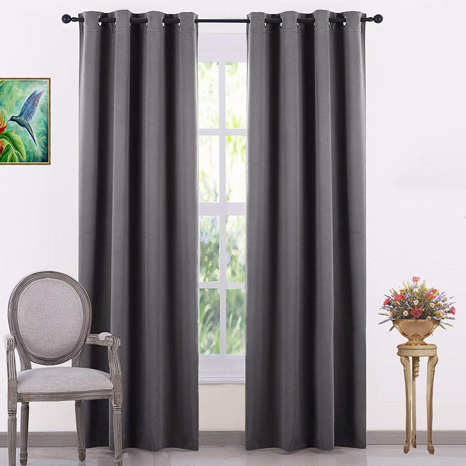 Jupon Silk Blackout Curtain