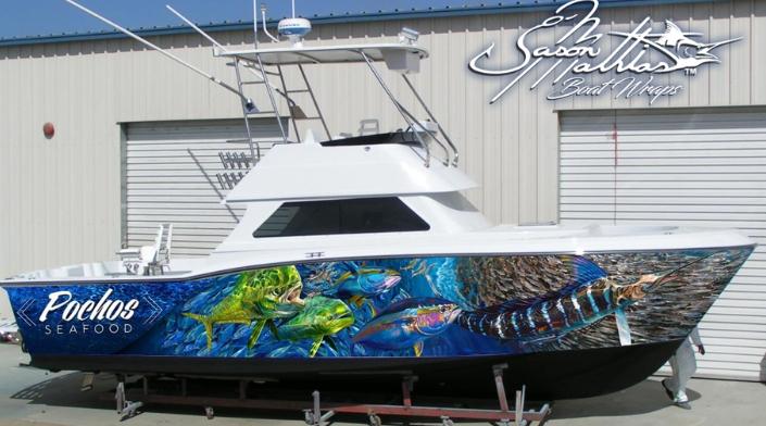 Fish Design Paint