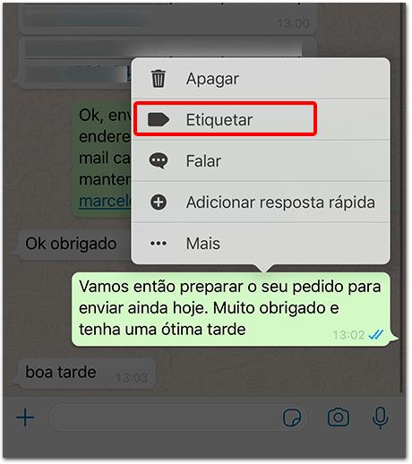 Como Criar No WhatsApp Business Etiquetas Organizadas ( Tutorial Completo 2021) 18
