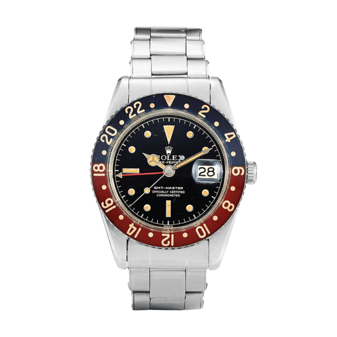 A photo of a Rolex GMT-Master Ref. 6542