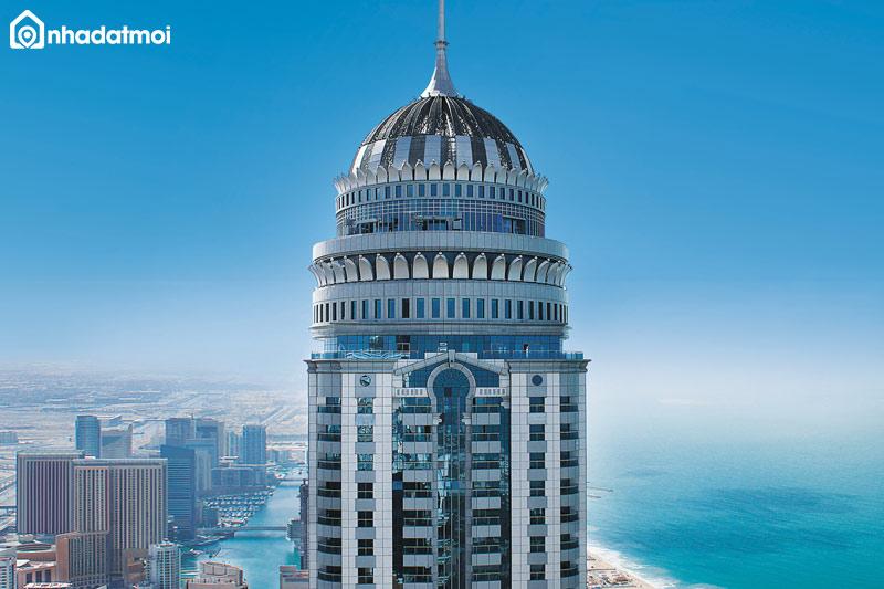 Phòng hình trụ thường có ở các tòa tháp tròn - cách tính thể tích phòng