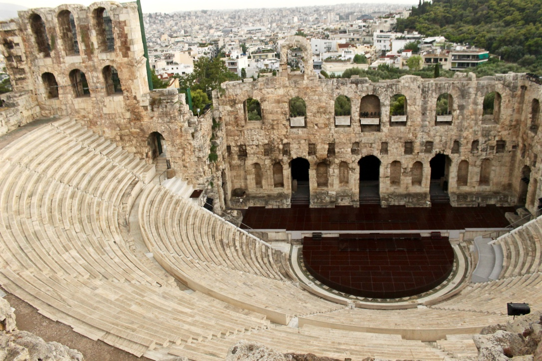 Herodes Atticus Theatre, Athens, Greece 2015