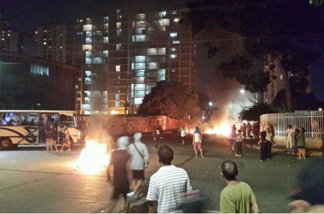 Resultado de imagen para hospital materno infantil que pretendieron quemar