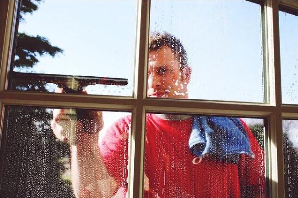 Shine's professional window cleaners