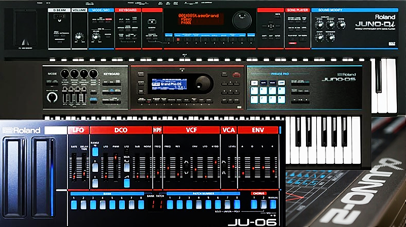 The Next Generation Roland Juno Series