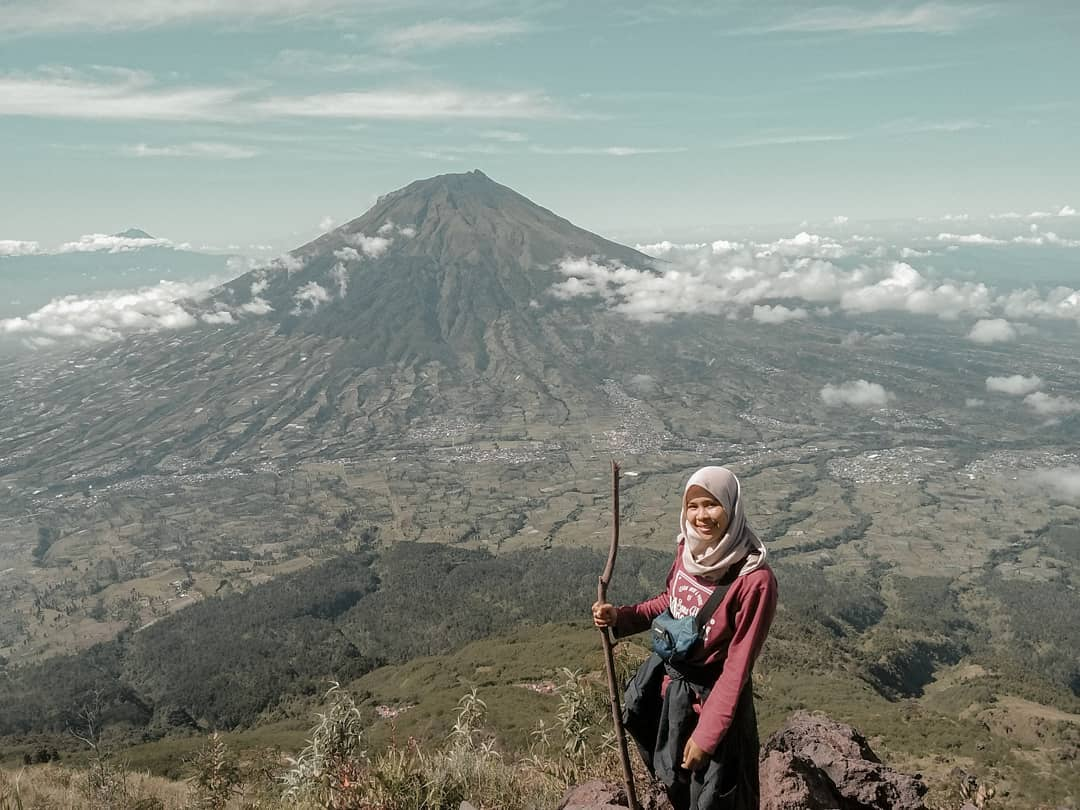 Penghuni gunung sindoro