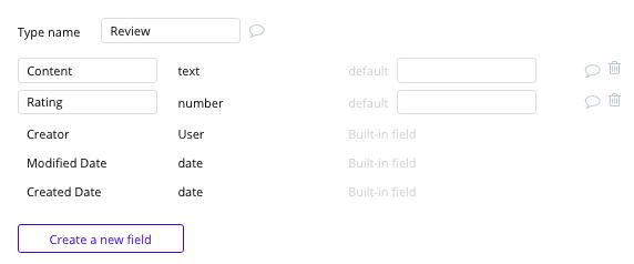 Bubble Fiverr Clone Review Data Types Fields Tutorial