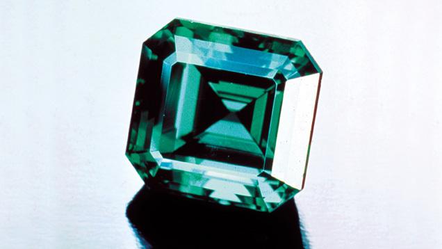 Bluish Green Emerald