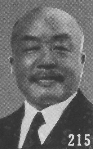 由蔣介石指派的台灣行政長官陳儀。他的政策提升了當時台灣的社會壓力。//圖片來源: Wikipedia, 公共領域