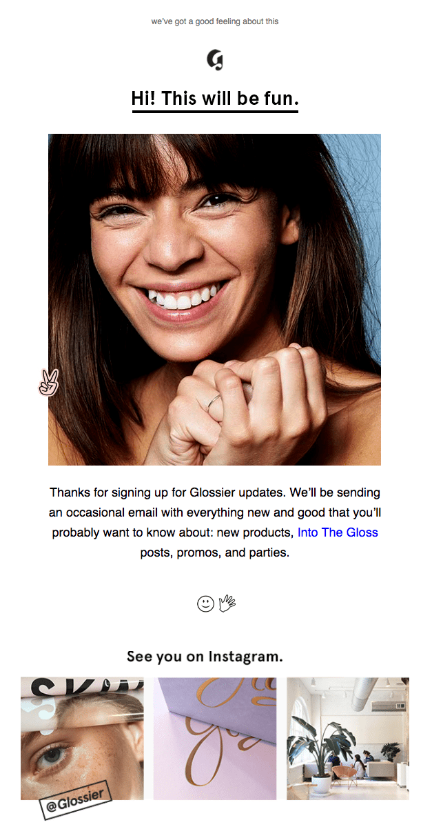 engaging welcome email to boost customer engagement