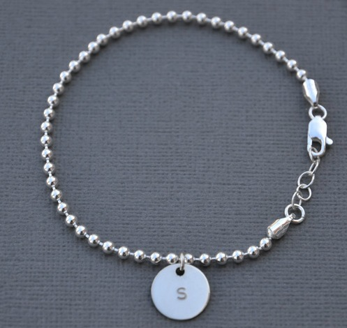 Ball Bracelet with Petal