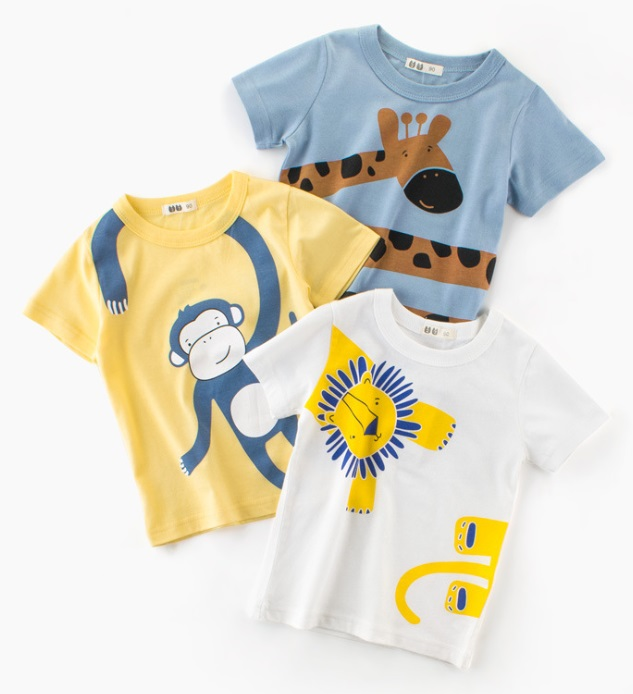 31 fasonów fajnych bluzek dla dzieci 2018