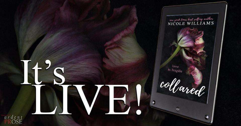 Release Day Blitz  Collared by Nicole Williams
