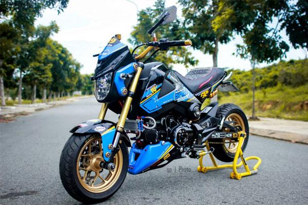 Honda MSX125 độ nổi bật và cá tính cùng hàng loạt đồ chơi