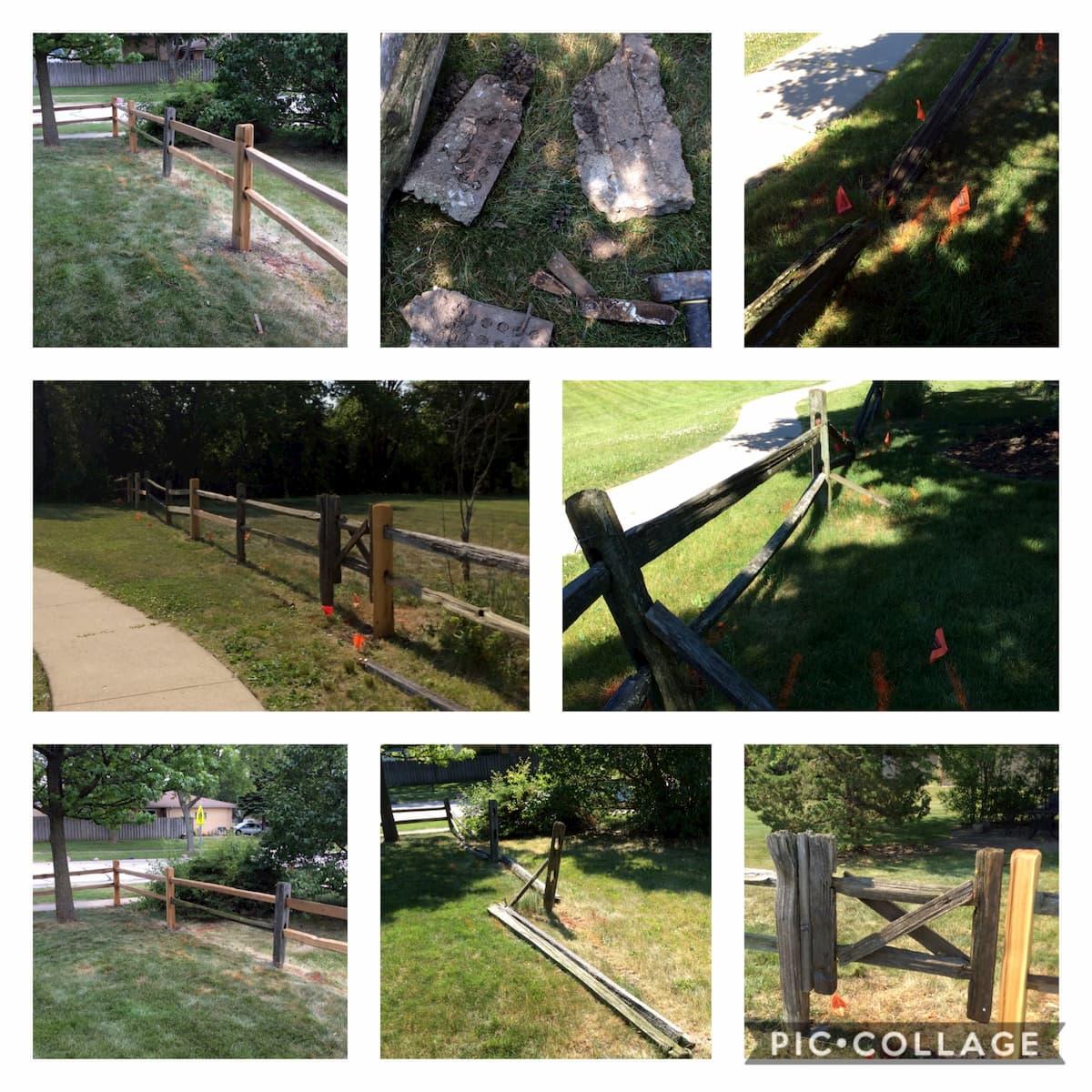 Handyman Hanover Park fence repair