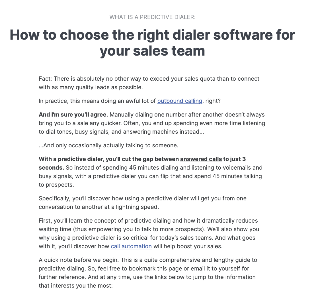 How to pick right dialer software
