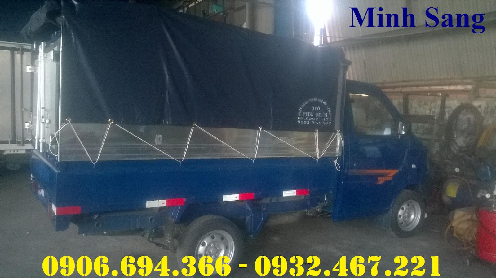 Bán xe tải nhỏ dưới 1 tấn thùng 2 mét trả góp uy tín sài gòn