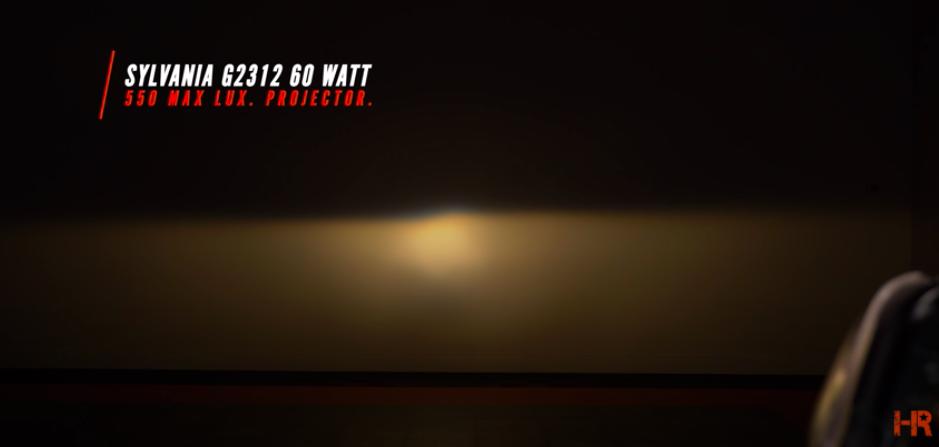 Is 100W Halogen Brighter than LED? - Sylvania G2312 60 Watt