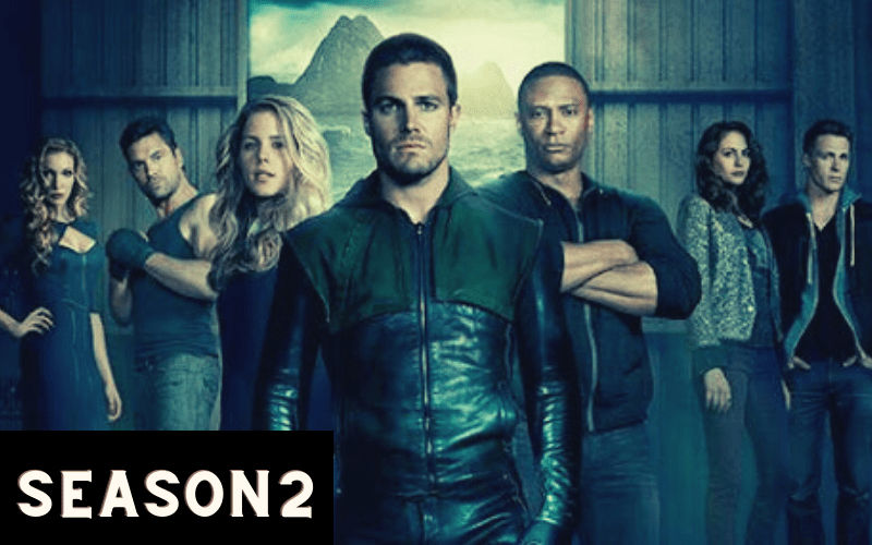 Index of Arrow Season 2