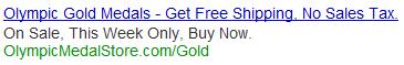 Best Adwords ad