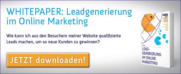 Whitepaper: Leadgenerierung im Online Marketing