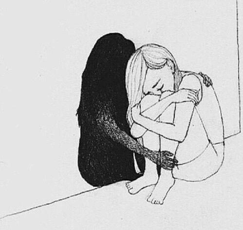 depression drawings