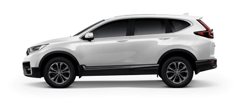 รถยนต์ Honda CR-V สี Modern Steel Metallic