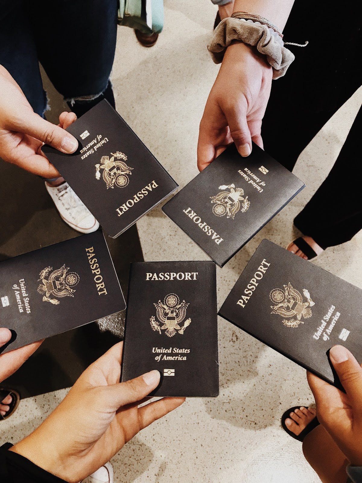 Passports are required to study abroad