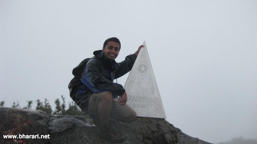 On top of Vietnam - Mt. Fansipan!