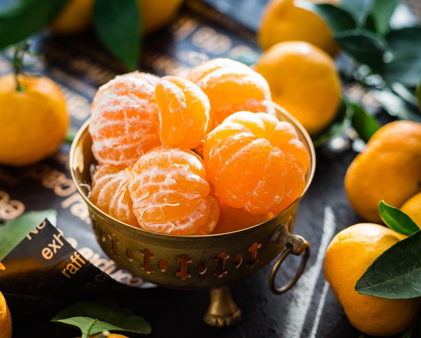 Frutas cítricas são ricas em vitamina C, que contribui para a imunidade e, também, para o cérebro (Imagem: Pixabay)