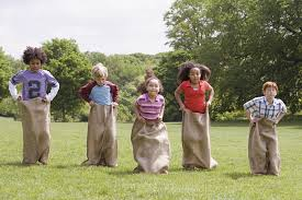 Image result for sack relay race