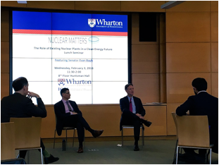 Nuclear Matters Joins Discussion at Wharton