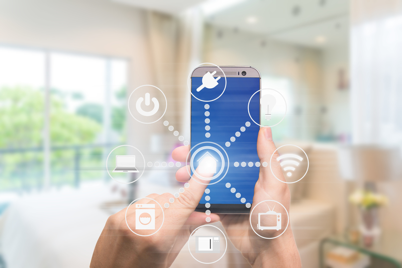 Smart home devices in a connected web