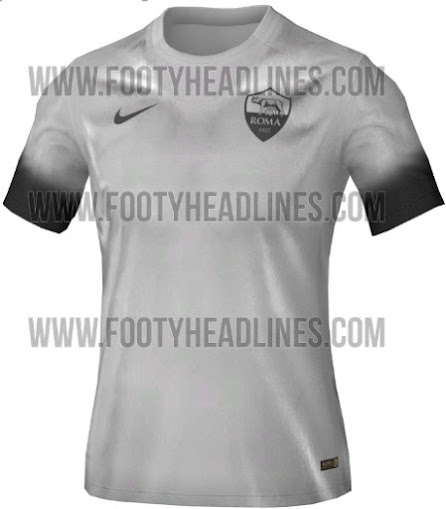 550a41561e7 AS Roma 2015-16 third (alternative kit) which will be used in the Champions  League away matches next season will feature a unique understated design in  ...