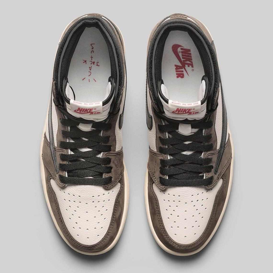 """Travis Scott x Air Jordan 1 High"" รองเท้าสุดแพงแถมยังหาซื้อยาก 03"