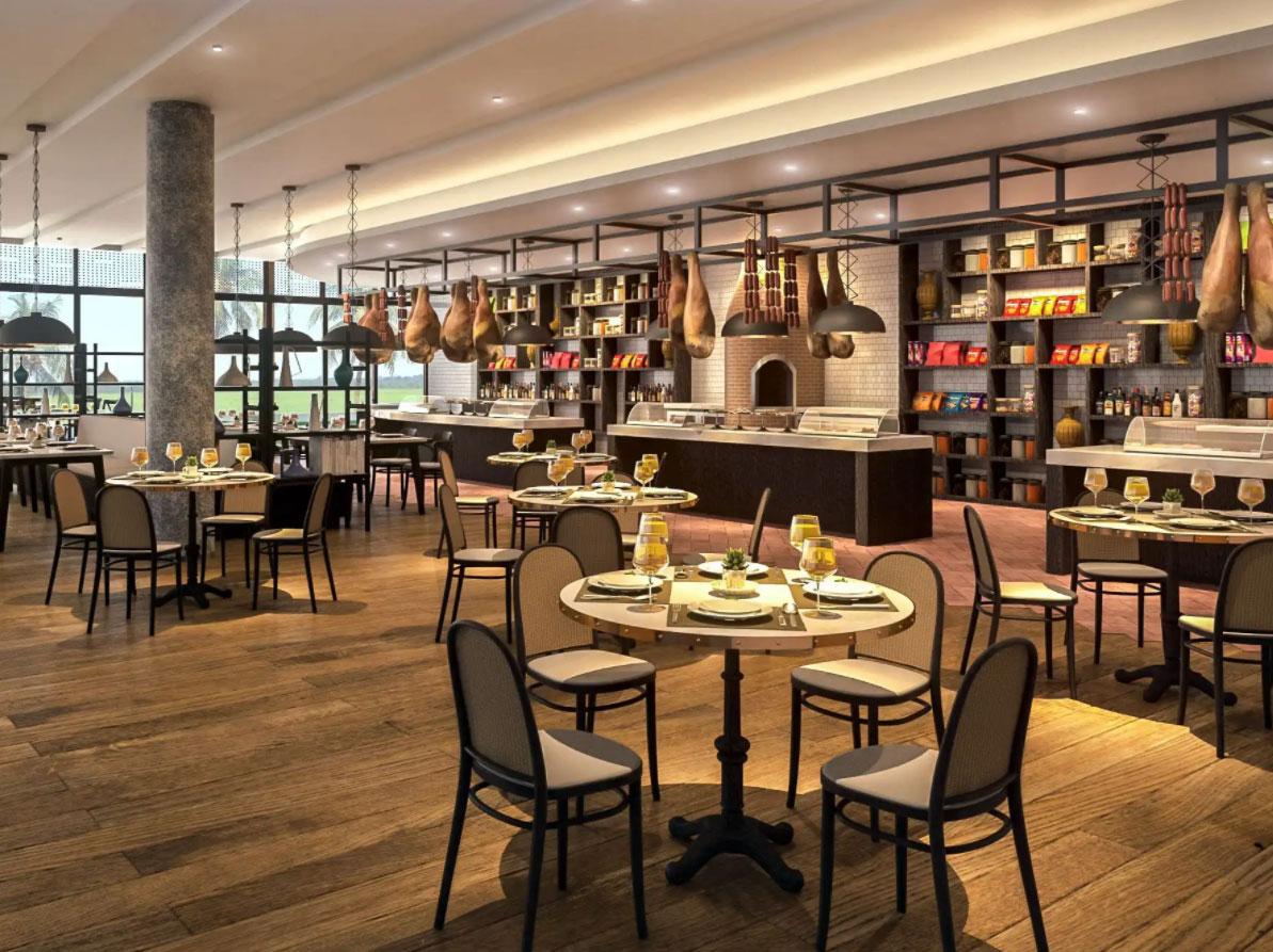 Nhà hàng La Casa phong cách Ý tại Vịnh Thiên Đường ALMA
