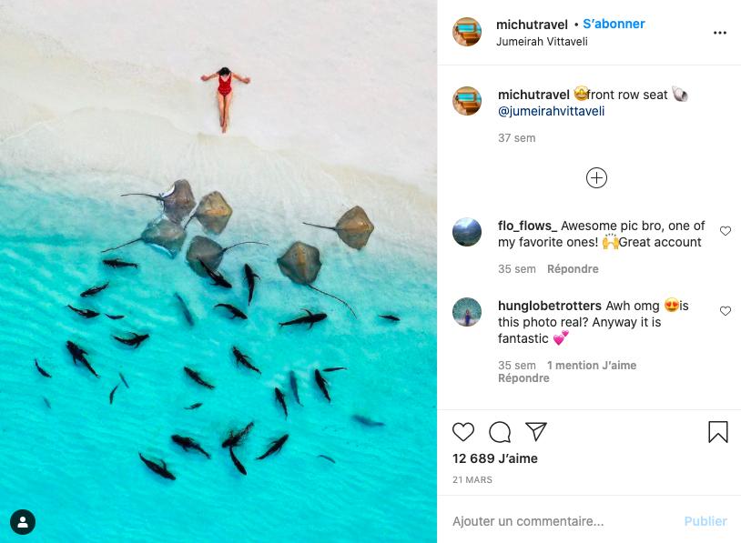Michu Travel Instagram