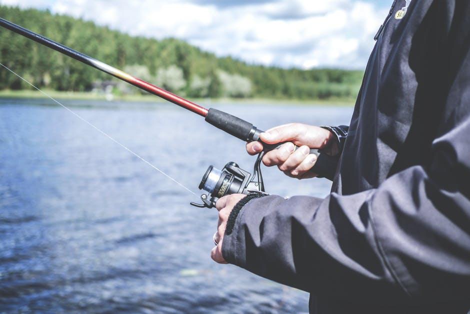 Person Fishing