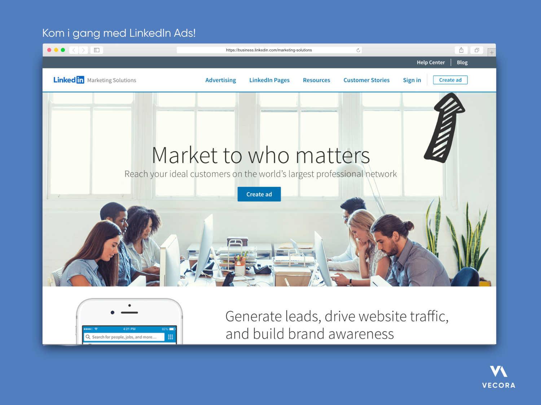 LinkedIn annonsering