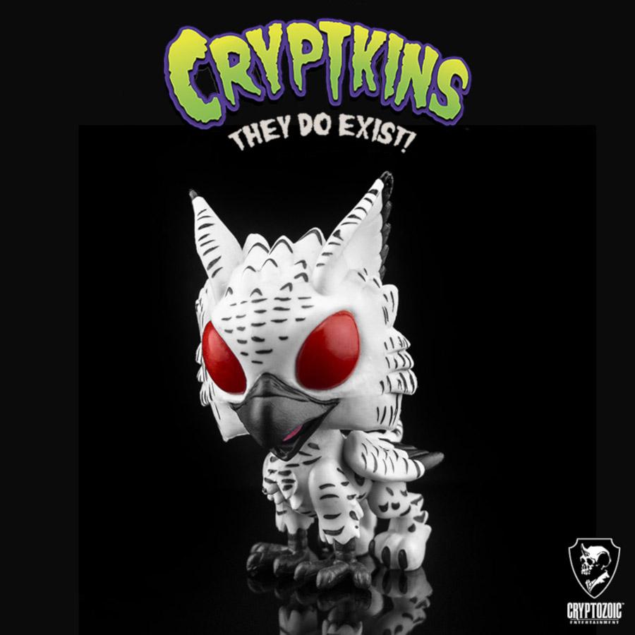 Snow Gryphon Cryptkins: Series 2 vinyl figure