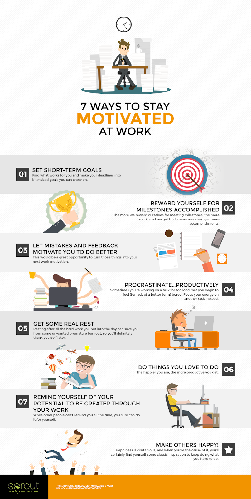 get motivated 7 ways you can stay motivated at work sprout 7 ways to stay motivated at work sprout