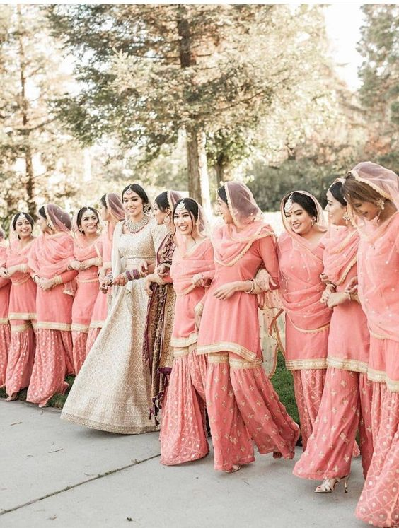 Traditional Indian wedding attire for women