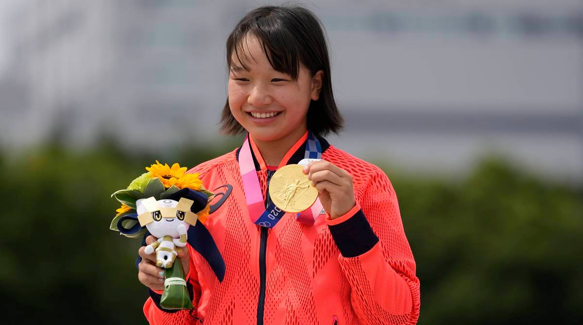 Olympic champ Momiji Nishiya, 13, shows in skateboarding, the younger the  better   Olympics News,The Indian Express