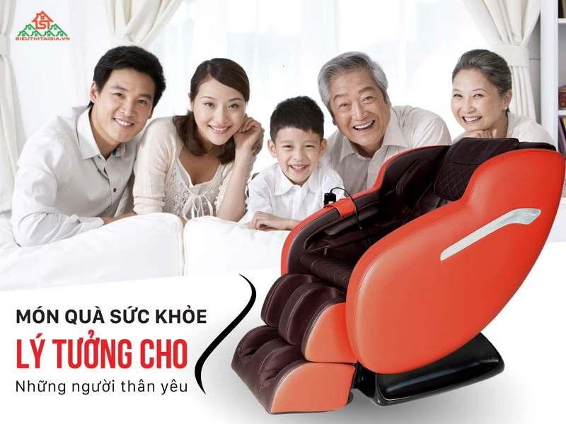 Ghế massage - Thư giãn tại nhà thoải mái và tiện lợ - Ảnh 1
