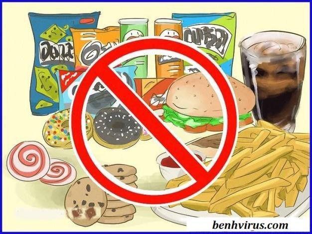 Những thực phẩm mà người bệnh thủy đậu không nên ăn