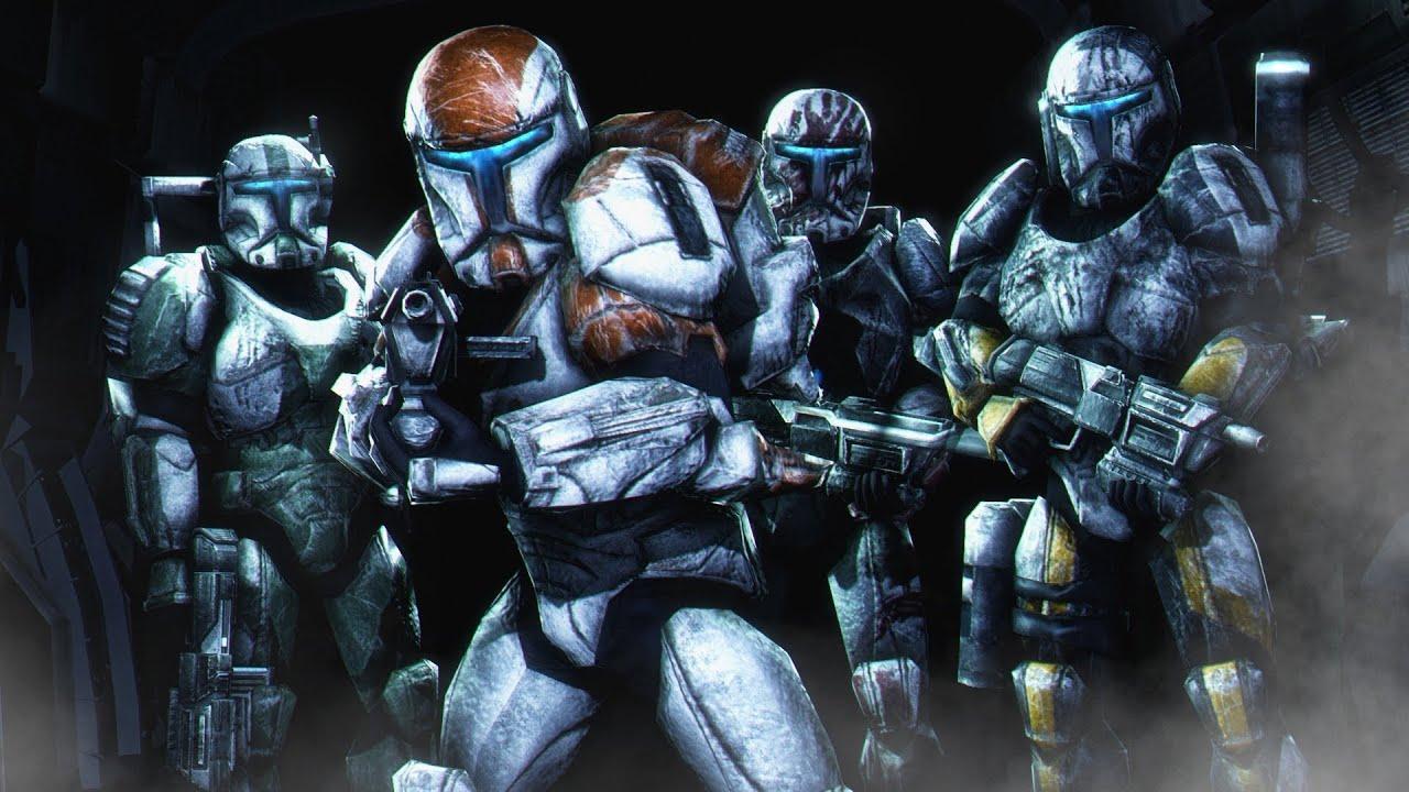 Star Wars: republic commando Character Design - artwork