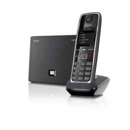Gigaset - bezdrátový IP telefon, barva černá
