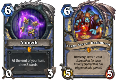 Aluneth, Sayge, Secret Mage Darkmoon Faire