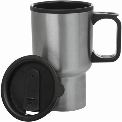 Maxam Stainless Steel 14 Ounce Travel Mug