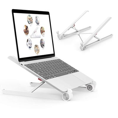 Voroly Foldable Height Adjustable Best Laptop Tables For Bed